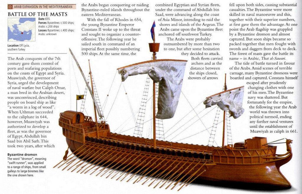 Bizans Savaş Gemisi Dromon