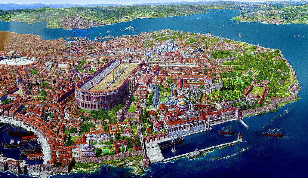 Yeni Başkent Konstantinopolis
