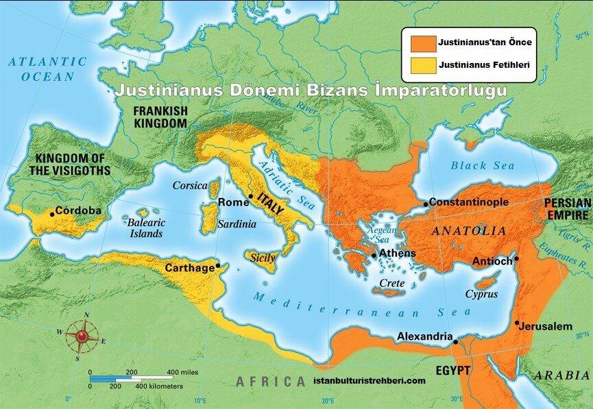 Justinianus Dönemi Fetihleri